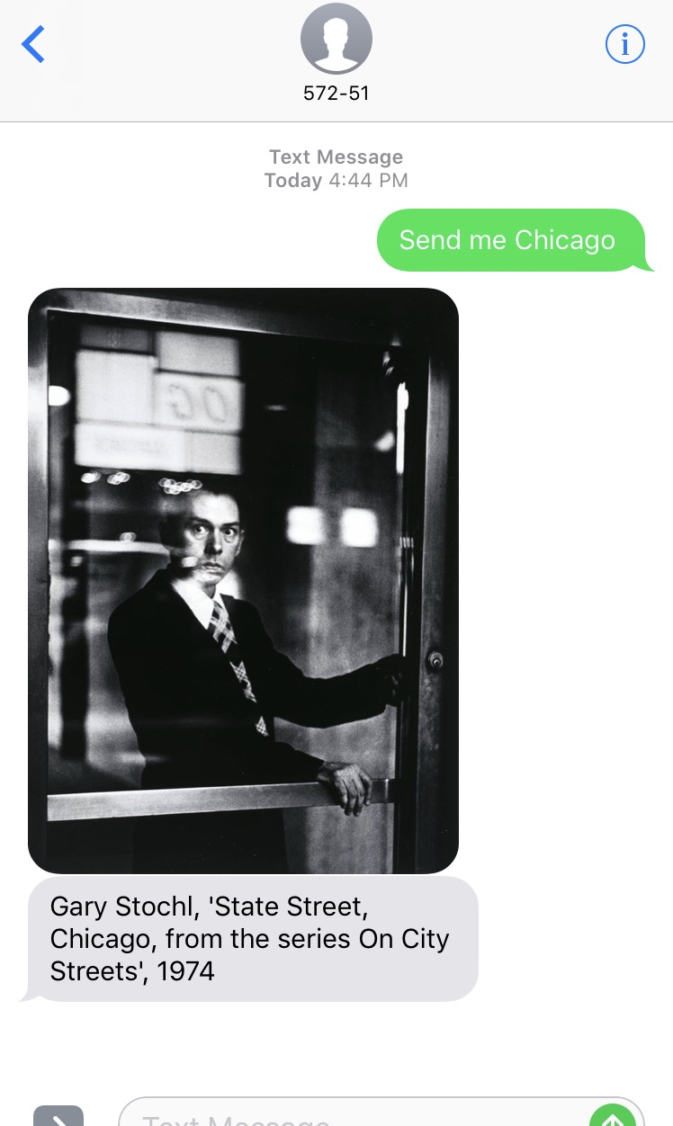 Text SFMOMA And They'll Reply With Art