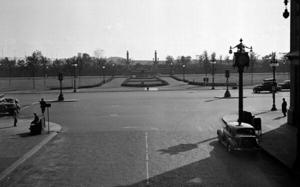 Millennium Park Vintage Photo